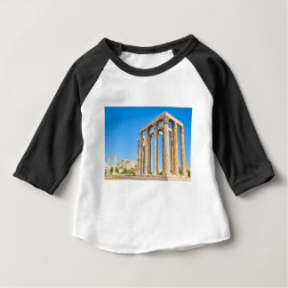 The Temple of Olympian Zeus in Athens, Greece, Baby T-Shirt