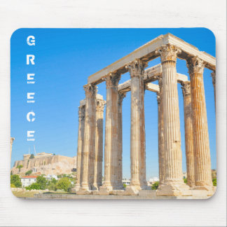 The Temple of Olympian Zeus in Athens, Greece Mouse Pad