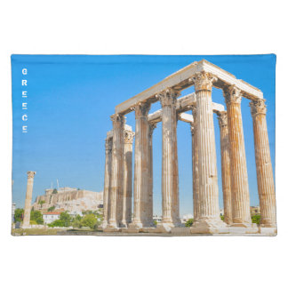 The Temple of Olympian Zeus in Athens, Greece, Placemat