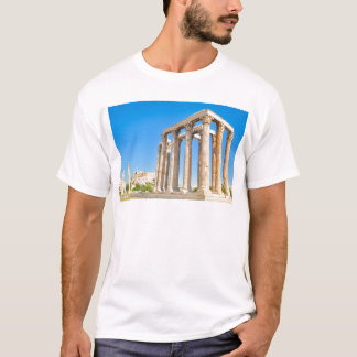 The Temple of Olympian Zeus in Athens, Greece T-Shirt