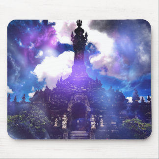 The Temple Time Forgot Mouse Pad