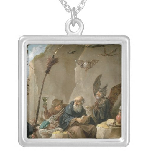 The Temptation of St. Anthony Necklace
