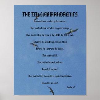 The Ten Commandments - Seagulls Poster