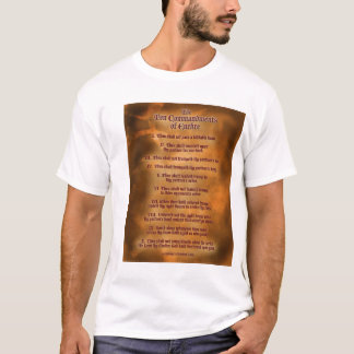 The Ten Commdments of Euchre T-Shirt