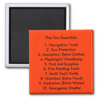 The Ten Essentials Magnet