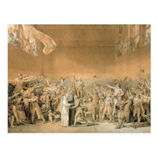 The Tennis Court Oath, 20th June 1789, 1791 2 Postcard