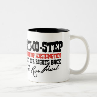 THE TEXAS 2 STEP Two-Tone COFFEE MUG