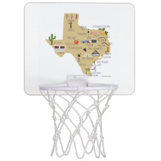 The Texas Basketball Game Mini Basketball Backboard