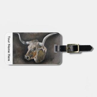 The Texas Longhorn Bag Tag