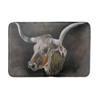 The Texas Longhorn Bathroom Mat