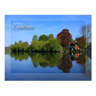 The Thames at Cookham Postcard