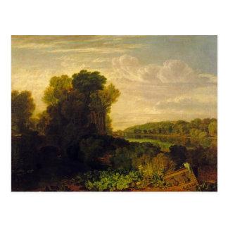 The Thames at Weybridge, c.1807-10 Postcard