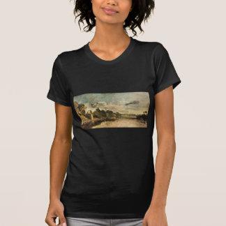 The Thames near Walton Bridges by William Turner Tee Shirt