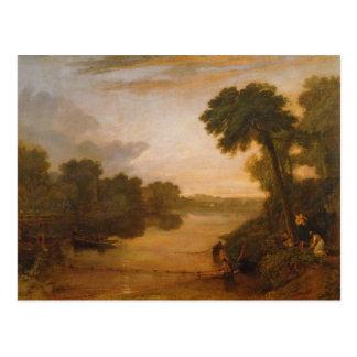 The Thames near Windsor, c.1807 Postcard