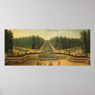 The Theatre d'Eau at Versailles Poster