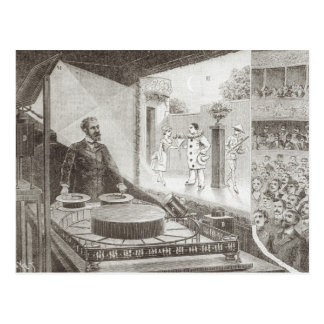 The 'Theatre Optique' and its inventor Postcard