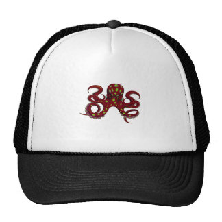 THE THENTACLES GRASP TRUCKER HAT