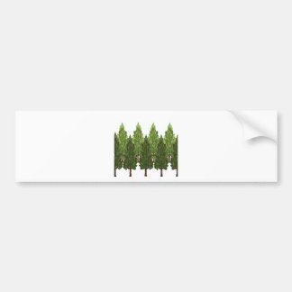 THE THICK FOREST BUMPER STICKER