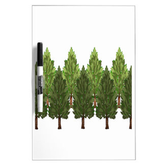 THE THICK FOREST DRY ERASE WHITEBOARDS