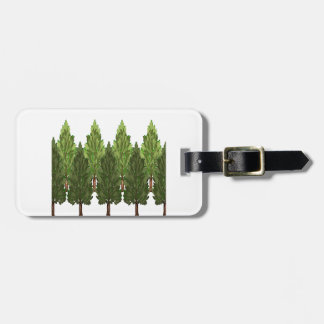 THE THICK FOREST LUGGAGE TAG
