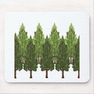 THE THICK FOREST MOUSE PAD