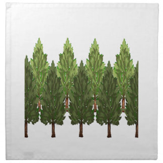 THE THICK FOREST NAPKIN