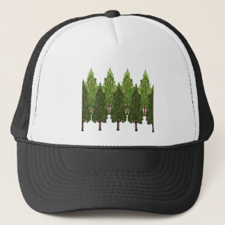 THE THICK FOREST TRUCKER HAT