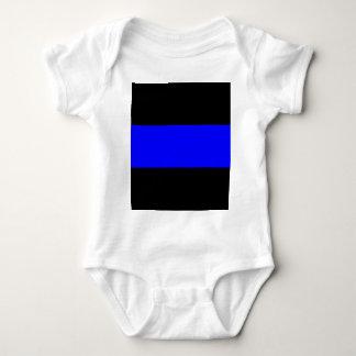The Thin Blue Line Baby Bodysuit