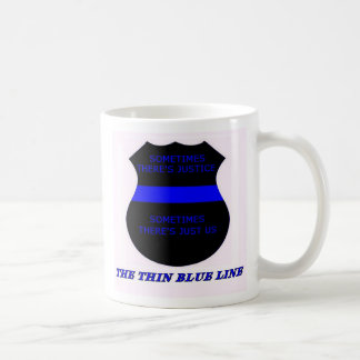 The Thin Blue Line Coffee Mug