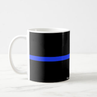 The Thin Blue Line Custom Mug
