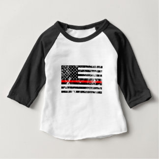 The Thin Red Line Baby T-Shirt