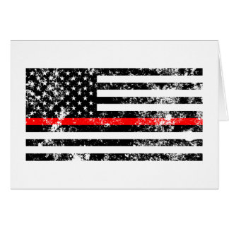 The Thin Red Line Card