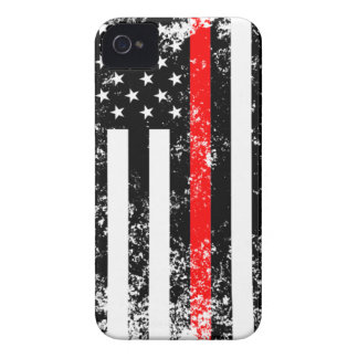 The Thin Red Line iPhone 4 Case