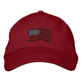 The Thin Red Lines Embroidered Cap