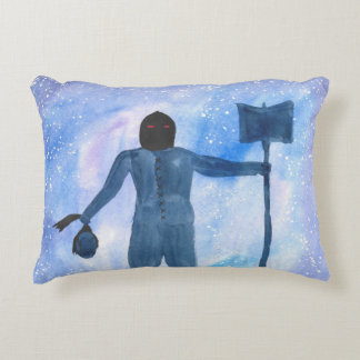 The Thing That Haunts The Old Highway Accent Pillow