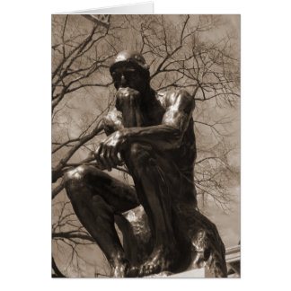 The Thinker Card