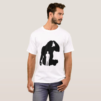 The Thinker -  Gorilla & Man T-Shirt