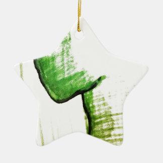 The Thinkers Solitude Ceramic Star Ornament