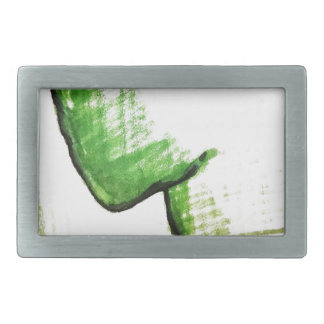 The Thinkers Solitude Rectangular Belt Buckles