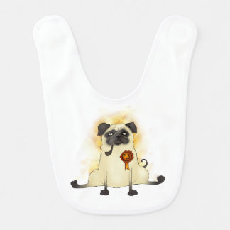 The Third Best Pug Bib