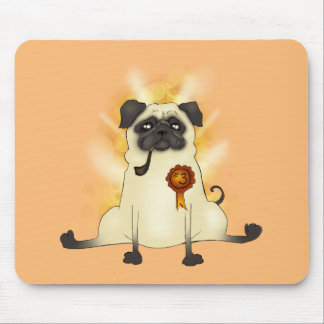 The Third Best Pug Mouse Pad