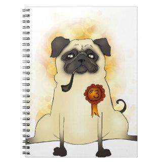 The Third Best Pug Notebooks