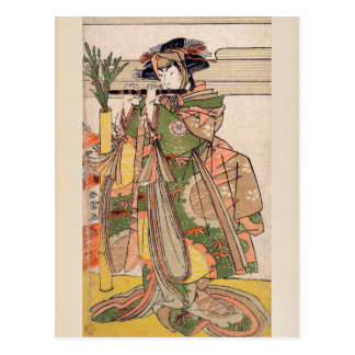 The Third Segawa Kikunojo as a Woman Postcard