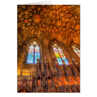 The Thistle Chapel St Giles Cathedral Edinburgh Card