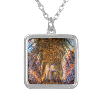 The Thistle Chapel St Giles Cathedral Edinburgh Silver Plated Necklace