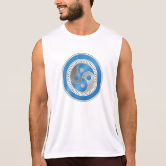The Thought Gym - Dry Fit Workout Exercise Vest Tank Top