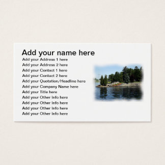 The Thousand Islands #1 Business Card