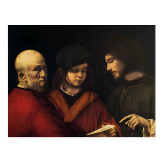 The Three Ages of Man by Giorgione Postcard