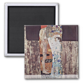 The Three Ages Of Woman By Klimt Gustav Fridge Magnets