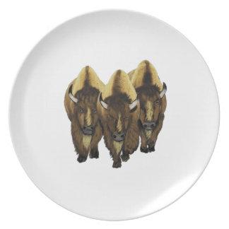 The Three Amigos Plate